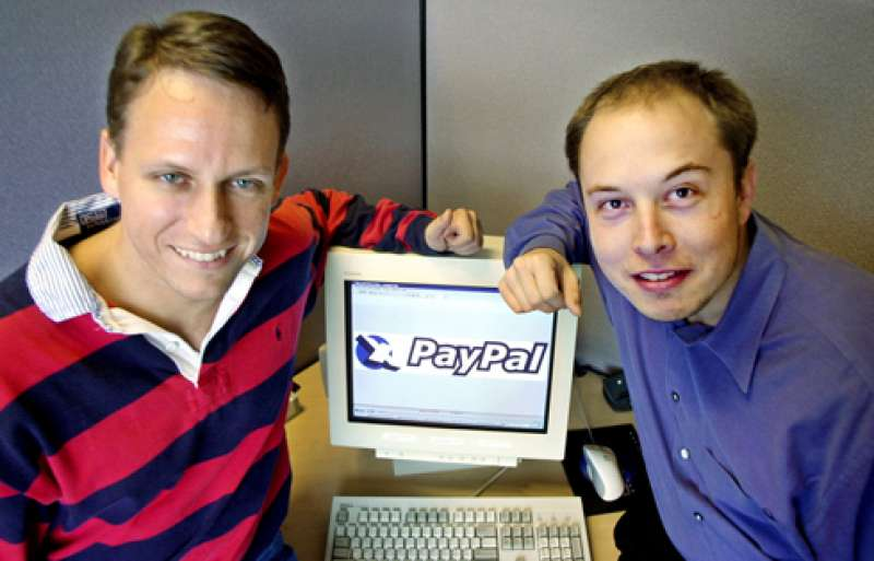 peter thiel e elon musk paypal - Web & idee. La storia di Peter Thiel: ha fondato PayPal, ha finanziato Facebook, ma il denaro non è la sua smania