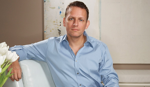 peter thiel paypal - Web & idee. La storia di Peter Thiel: ha fondato PayPal, ha finanziato Facebook, ma il denaro non è la sua smania
