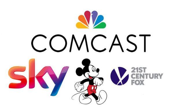 Comcast Sky Disney Fox