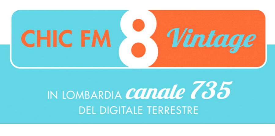 chic fm 735 900X445 - Radio 4.0. Visual radio DTT che crescono, il caso Otto FM Tv: quando la buona idea in FM risulta vincente anche in Tv