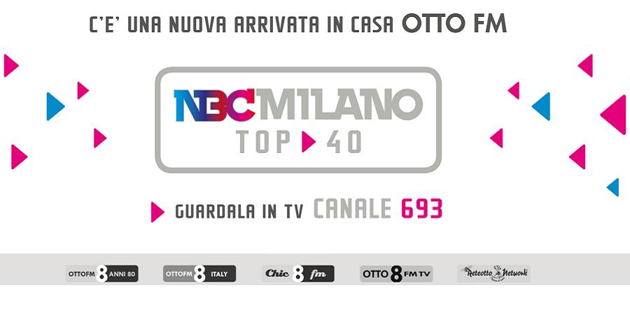 nbc milano otto fm 693 900X445 - Radio e Tv locali. Umbria: approvata la legge regionale sul sostegno all'editoria. Stanziati 780 mila euro in tre anni per Giornali, Televisioni, Radio e siti