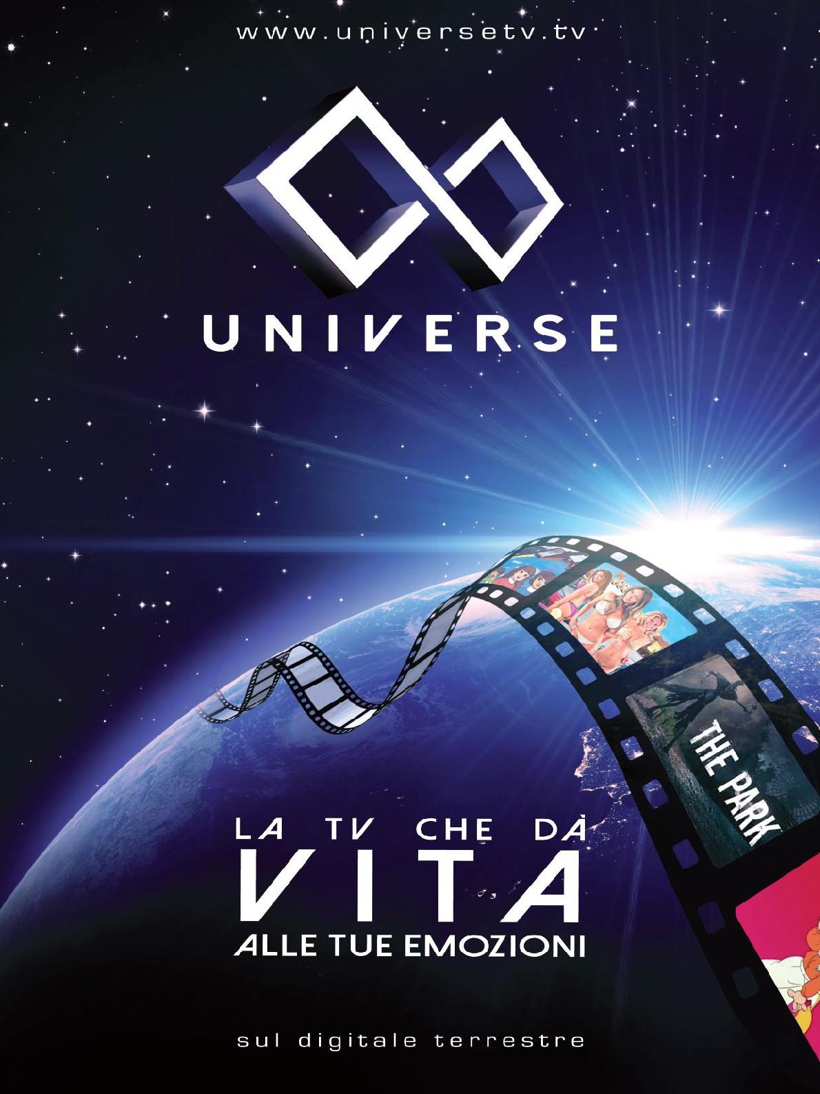 universe tv - DTT. Parte Universe, nuovo circuito tv generalista che rispolvera il concetto di syndication adeguandolo alla tv 4.0