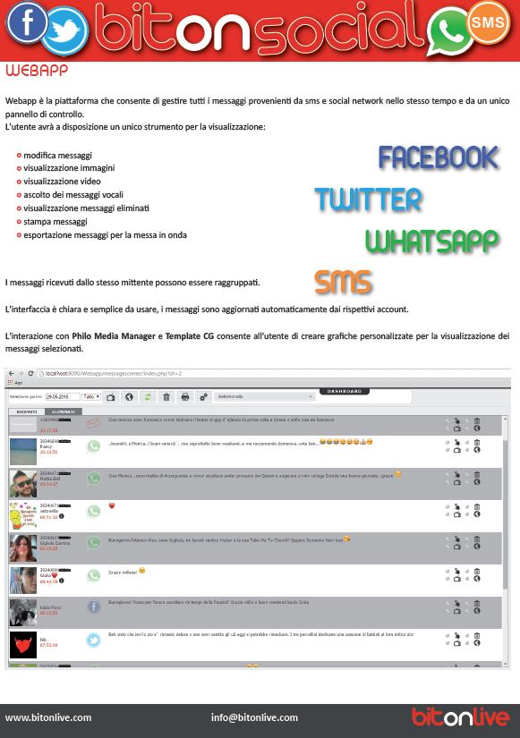 Bitonlive sms e whatsapp 2 - Radio. Cambiare tutto per non cambiare niente: le dediche 4.0 attraverso i messaggi Whatsapp in visual radio