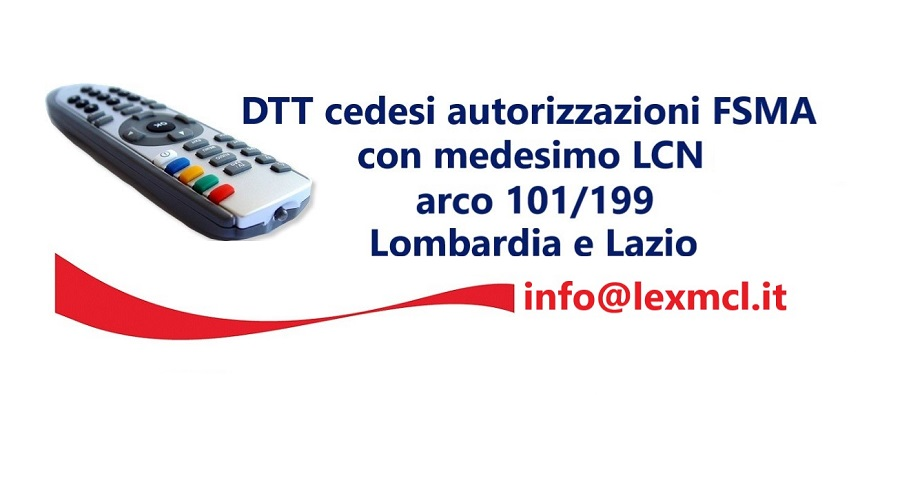Cessione LCN 101 199 Lombardia e Lazio - Radio e Tv 4.0. In futuro gli spot saranno sempre meno importanti. Vincente mix ricavi da digital audio, traffico e on demand