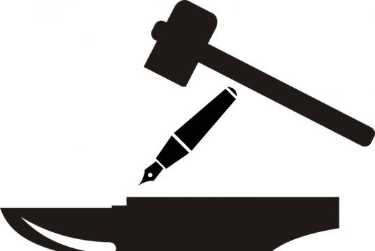 editoria, privacy, incudine e martello