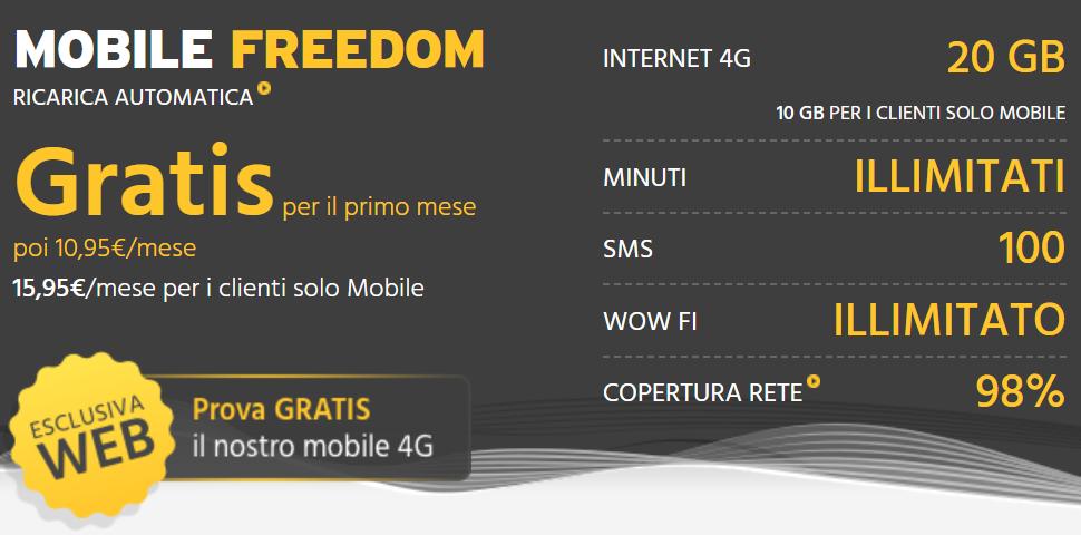 fastweb 20 GB - Tlc & web. Vodafone, TIM e Fastweb inseguono Iliad: tariffe flat (30 giga) a 7 euro/mese. E nel 2020 i giga saranno 100
