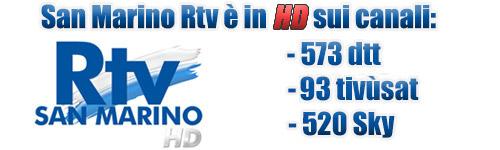 san marino rtv 2018 - Radio Tv. San Marino Rtv, quali frequenze e quale copertura nel nuovo scenario DTT?