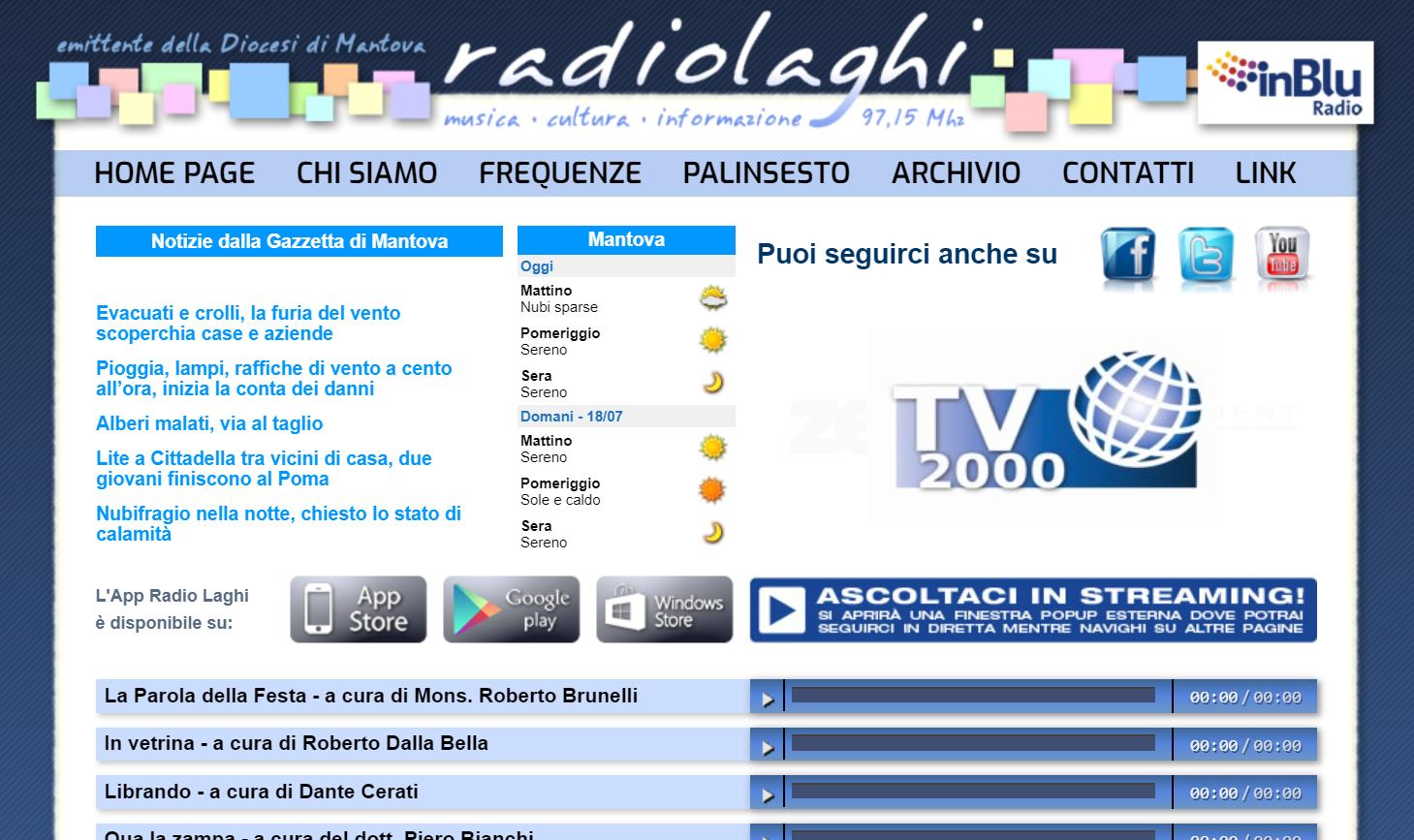 Radio Laghi - Radio locali. Continua l'uscita di scena dalla FM: a Milano Babayaga lascia spazio a Bruno. A Mantova a Radio Laghi succede RDS. Ecco il quadro delle decisioni