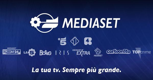 mediaset loghi - Tv nazionali: presentati i palinsesti Mediaset per l'autunno: Rete 4 va sulla scia di La7 e punta su informazione e attualità