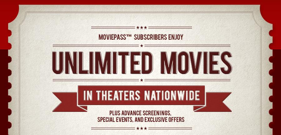 moviepass unlimited movies ticket - Cinema. Il paradosso di MoviePass: sull'orlo della bancarotta a causa del boom della domanda