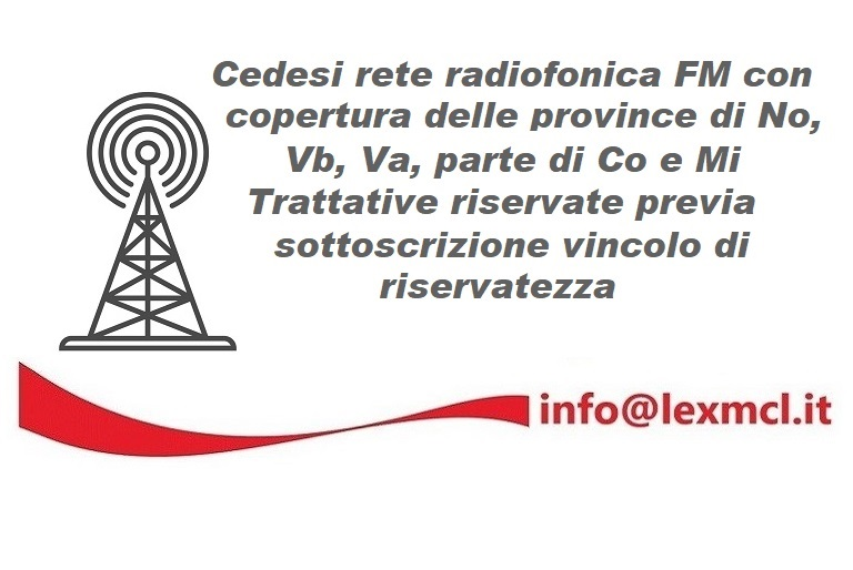 "Cessione FM province No Vb Va Co Mi 768x514 - Tv. Con Cirrus Eutelsat unisce la distribuzione satellitare con quella ""over the top"". Il futuro della Televisione è sempre più IP"