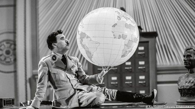 Hitler, Chaplin, fake