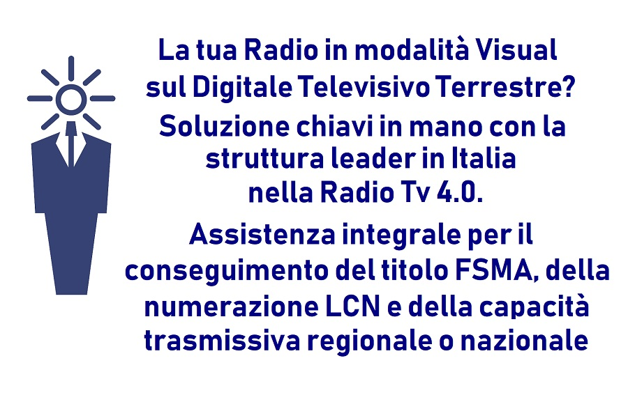visual radio 1 900X600 - Radio e Tv. Informazione, Art News: l'outsourcing per le news radiotelevisive che guarda alla multipiattaforma, alla visual radio, ai podcast, alle radio in store ed ai brand bouquet
