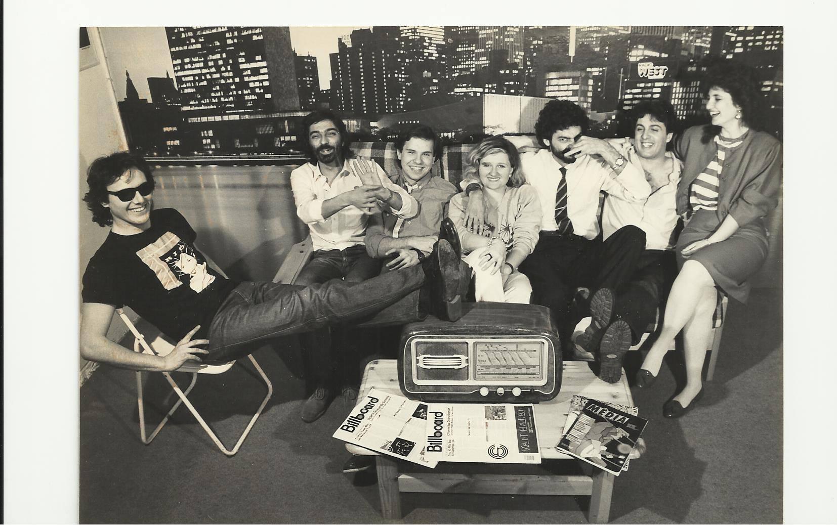 Radio West 1 - Radio. Ricordi di un'epoca che non c'e' piu'. Le riunioni: un crogiolo di emozioni e tensioni difficile da dimenticare