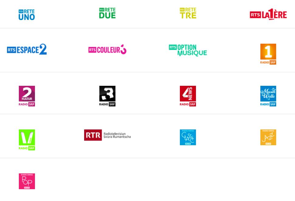 brand bouquet svizzera - Radio e Tv 4.0. La Svizzera invita utenti ad adeguarsi a imminente abbandono DTT (giugno 2019) ed a Radio IP, podcast in testa. Smart speaker a go go dappertutto