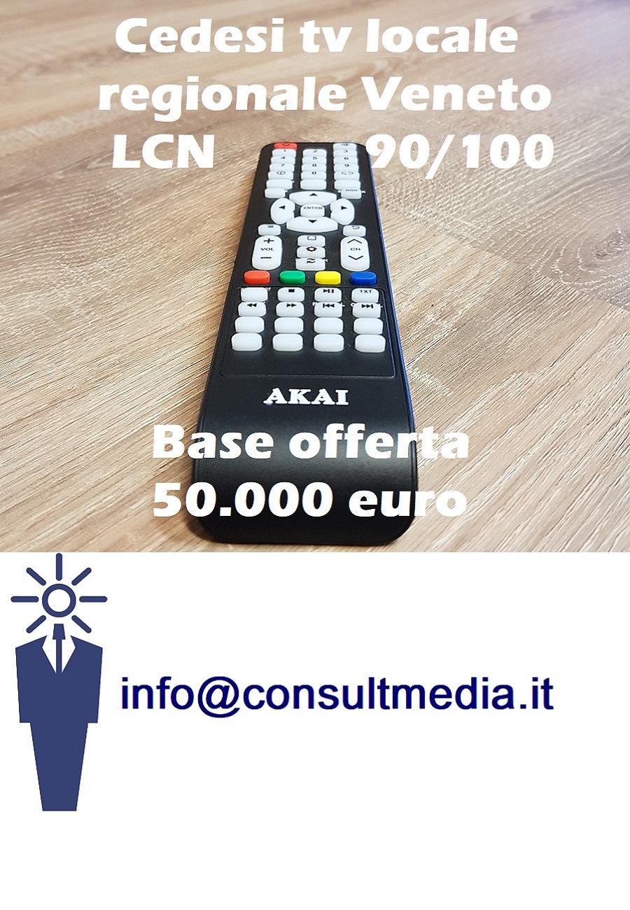 cessione LCN 90 100 Veneto 900x1300 - Tv locali. Lombardia: chiude Teleunica. Da gennaio 2019 stop trasmissioni a seguito del fallimento della controllante Filca Cooperative
