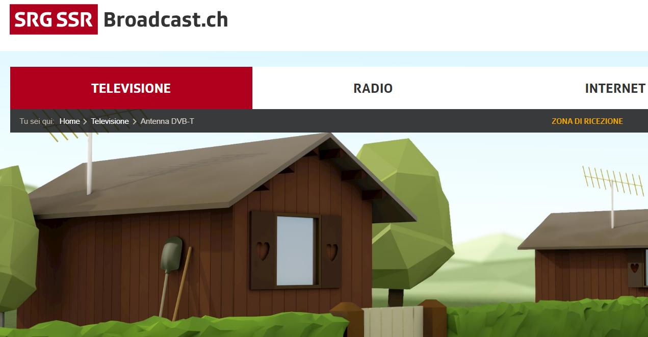 abbandono, svizzera, dtt, digitale tv terrestre