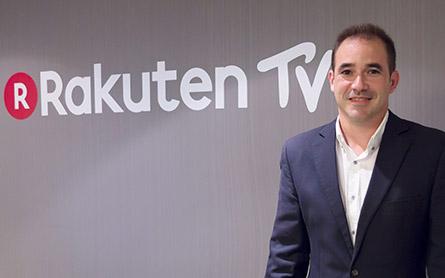 Jacinto Roca fondatore e ceo di Rakuten tv - IP Tv. Rakuten TV: in arrivo pulsante dedicato nelle smart tv