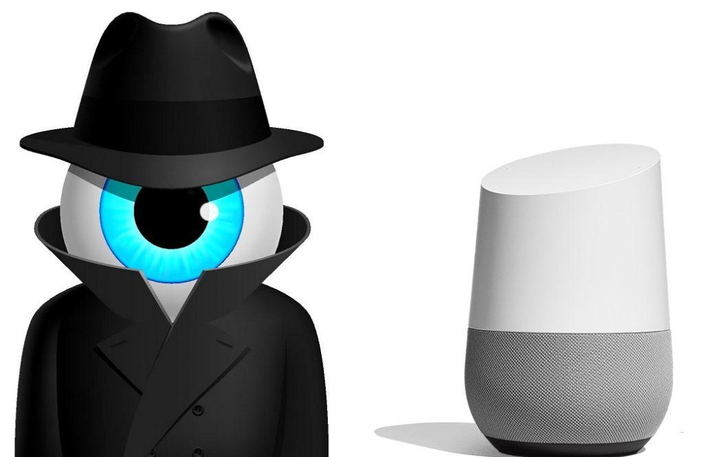 google home, spia, intelligenza artificiale