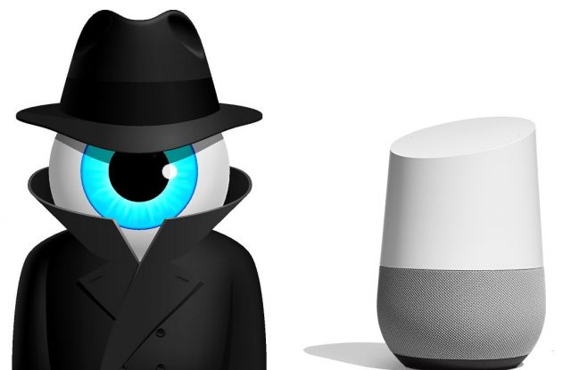 google home, spia, intelligenza artificiale