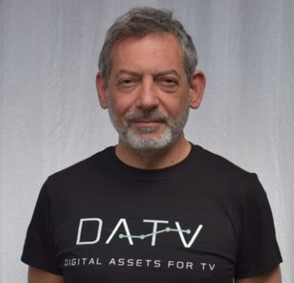 Luca Di Cesare fondatore di Datv