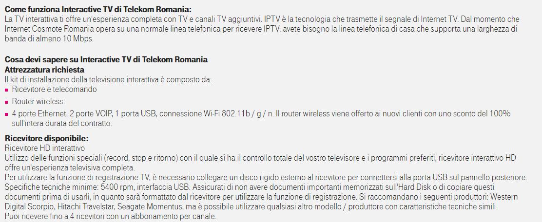 Telekom Romania 3 - Tv. Sorpresa: porteremo gli LCN del DTT sulle smart tv. L'esperienza (positiva) della Romania con Telekom che lista i canali con LCN a tre cifre speculari a quelli via etere