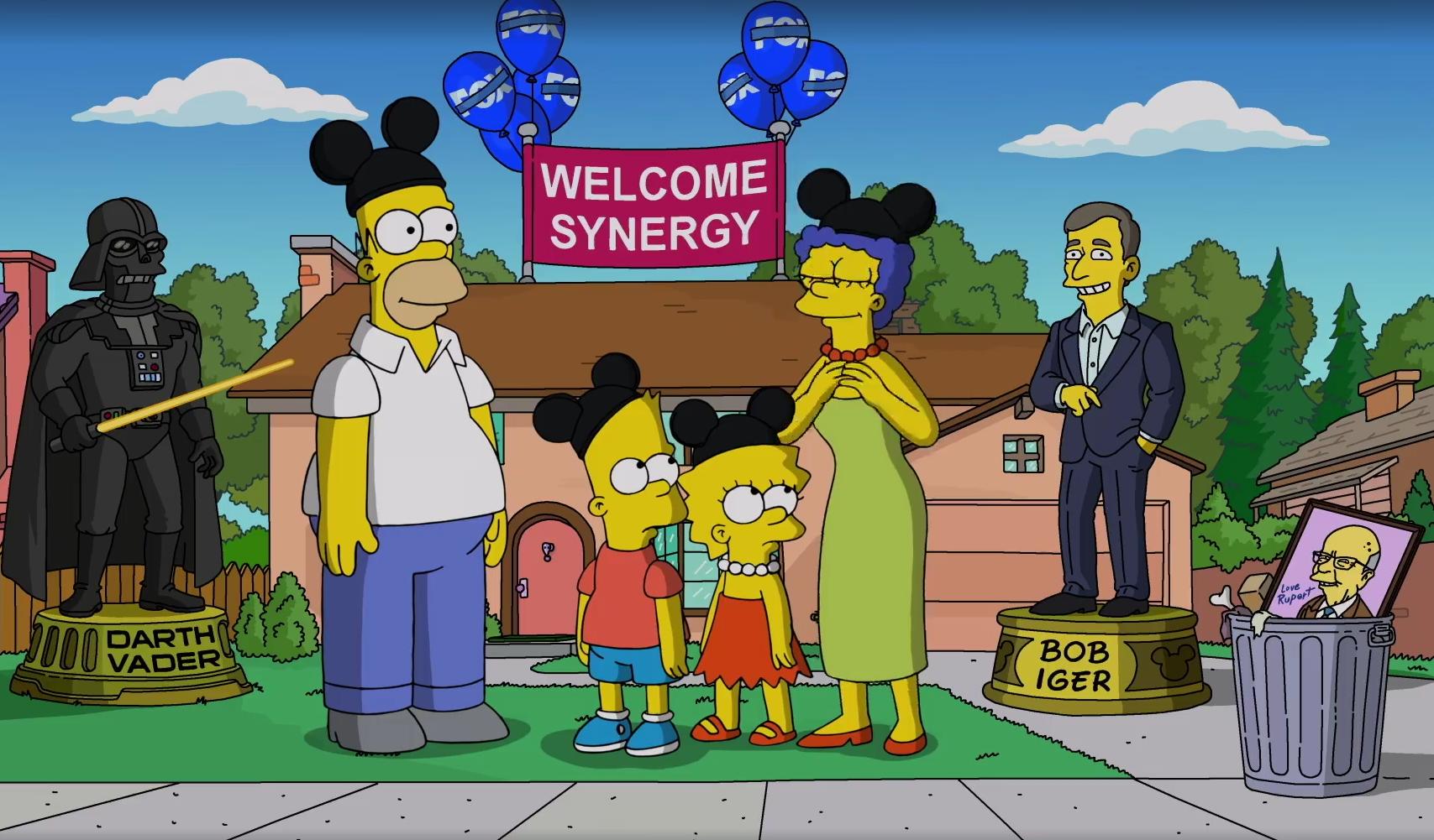 The Simpsons - IP Tv. Disney Investor Day 2019: 12/11/2019 parte Disney+, a inizio 2020 previsto arrivo in Italia