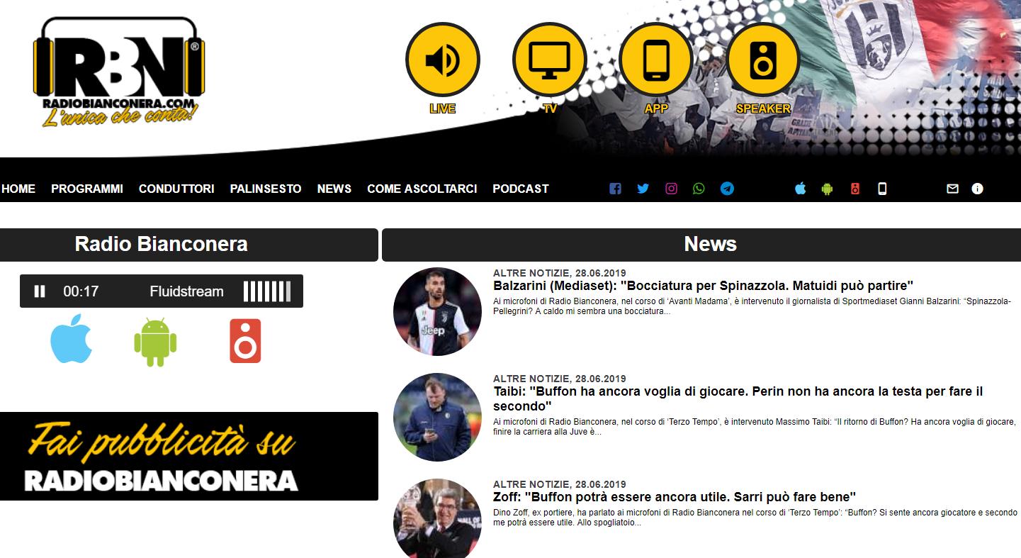 radio bianconera - Tv locali. Nord Italia: a Torino arriva Bianconera Tv al posto di Telesubalpina mentre nel mux di Studio 1, Cremona 1 conquista la Lcn 80 generando un vortice di cambiamenti di numerazione