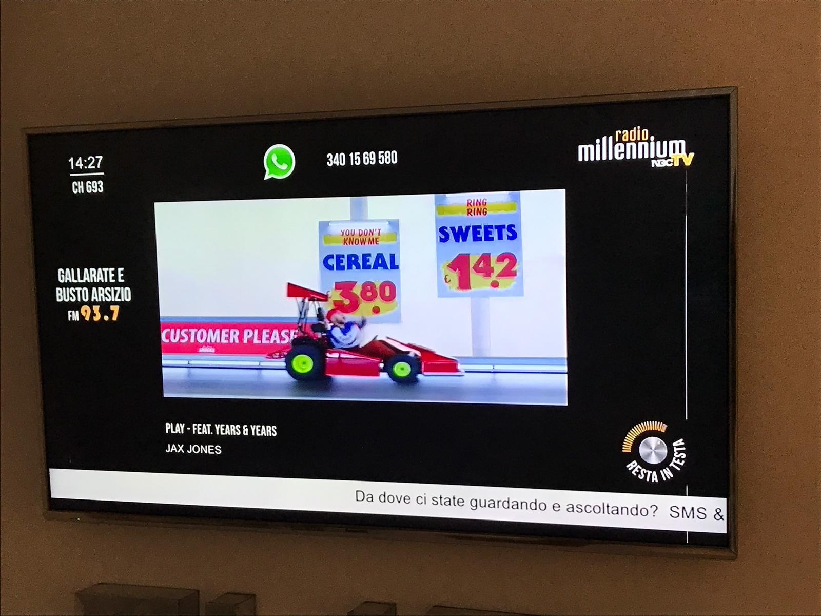 Radio Millennium Tv 693 - Siate affamati, siate folli