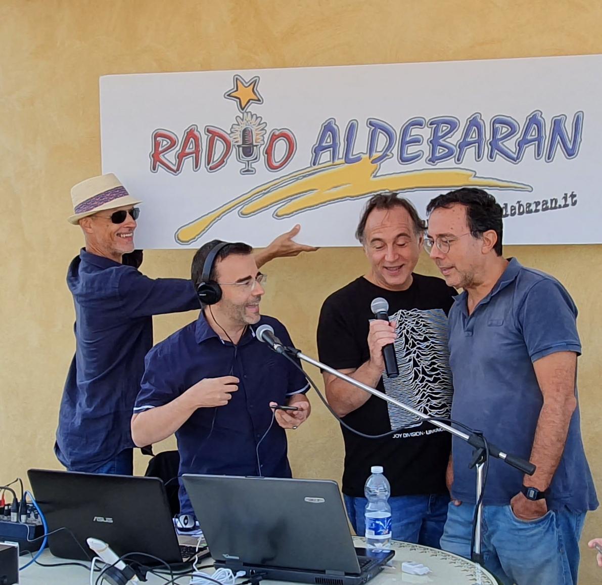 Aldebaran 2 - Radio locali. Liguria: Radio Aldebaran, punto di riferimento nel Levante, compie 40 anni e organizza una lunga serie di iniziative, con tutti i suoi conduttori negli anni