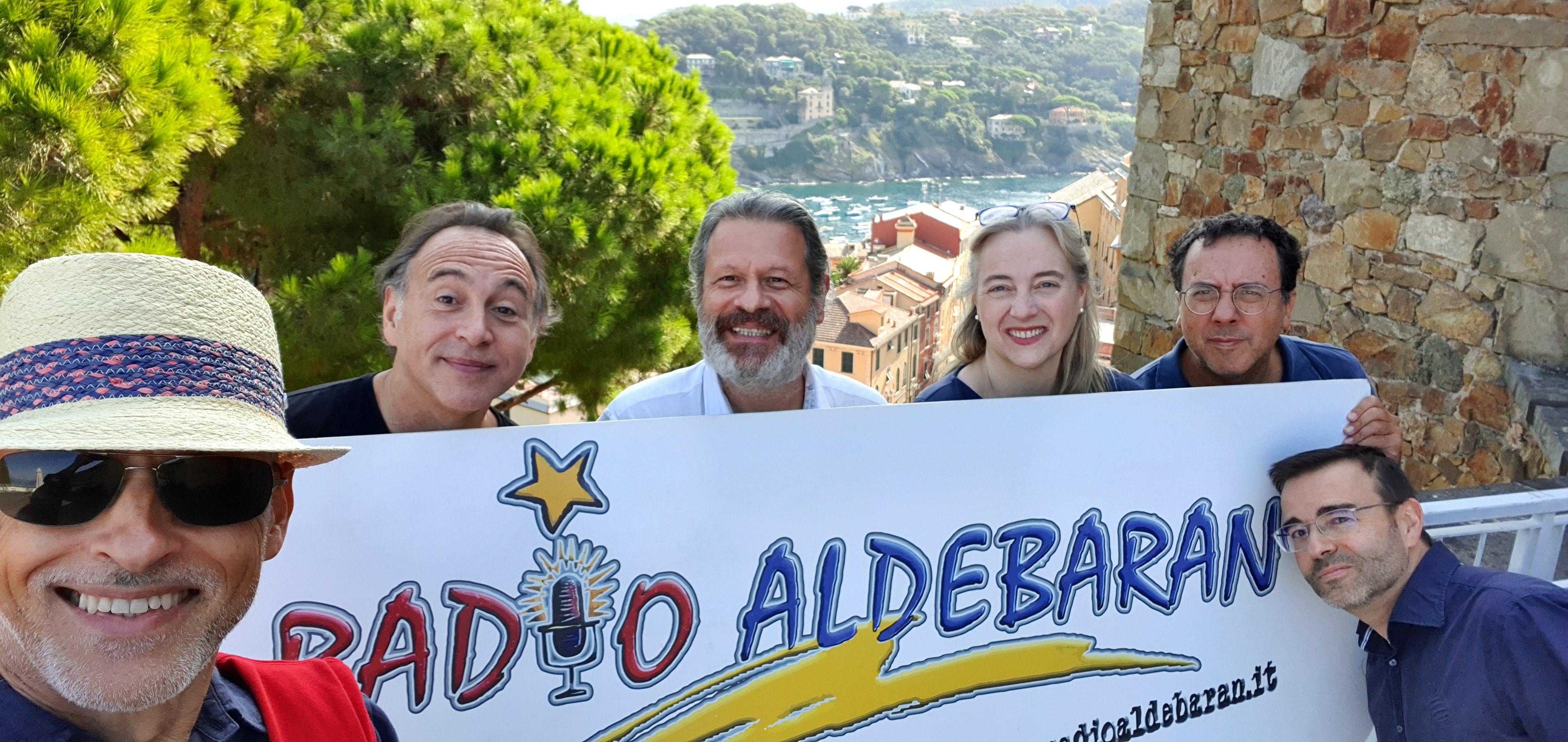 Aldebaran 3 - Radio locali. Liguria: Radio Aldebaran, punto di riferimento nel Levante, compie 40 anni e organizza una lunga serie di iniziative, con tutti i suoi conduttori negli anni