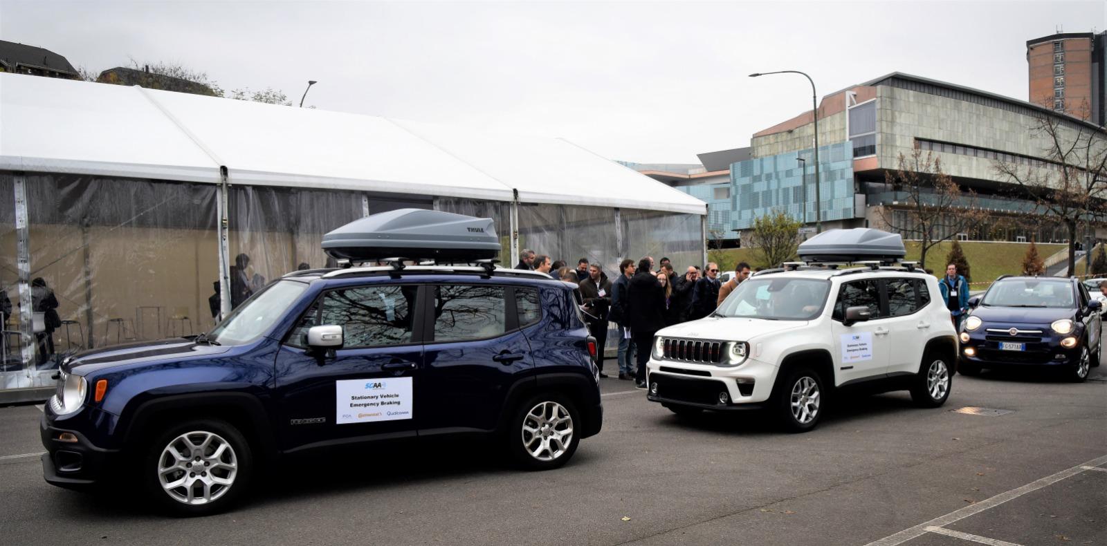 FCA 5G 2 - Tecnologia. Connected car. FCA: auto hub di servizi integrati come smartphone. 5G può rendere auto più intelligenti e sicure
