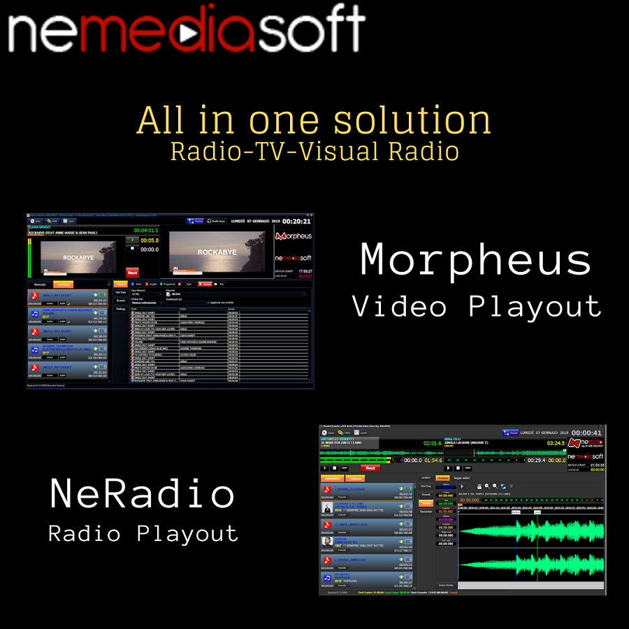 nemedia banner 2 2019 900x900 - Musica. Mercato musicale italiano in rapida crescita. Lo streaming in testa e vola a quota 67%