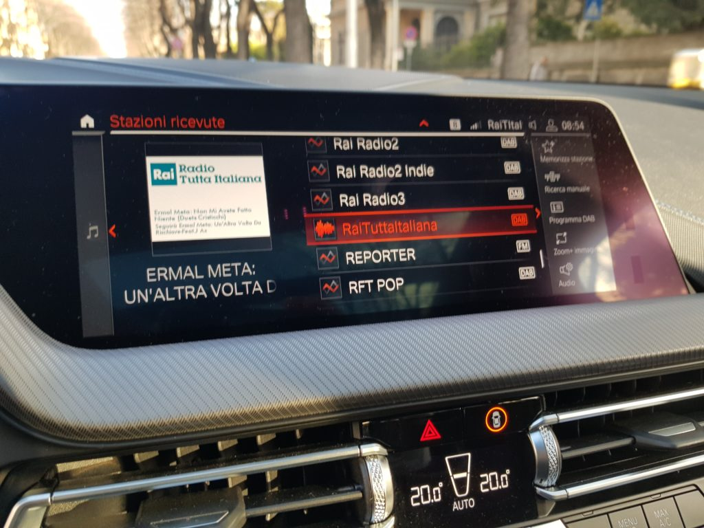 BMW, drive time, switch-off tv