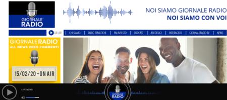 Giornale Radio sito - Radio 4.0. Milano, presentato ieri Giornale Radio: primo brand bouquet all news in Europa e forse al mondo. Su IP, DTT e prossimamente DAB+. Platea di 10 mln utenti grazie a Il Sussidiario