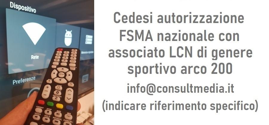 FSMA LCN sportivo nazionale arco 200 banner 900x418 - DTT. Pellegrinato (Mediaset) Tv live IP in luogo di sat? Non se, ma quando. DVB-I soluzione per chi non troverà spazio su DVB-T o DVB-S. Con gli stessi LCN