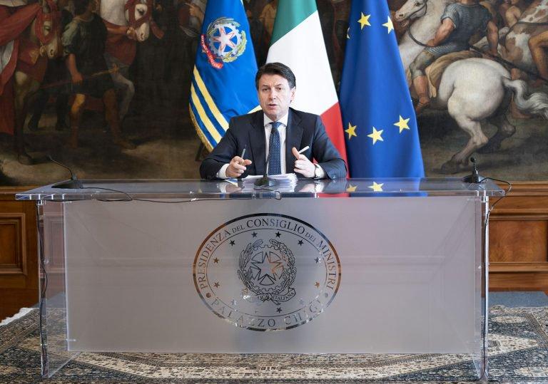Cura Italia, Conte