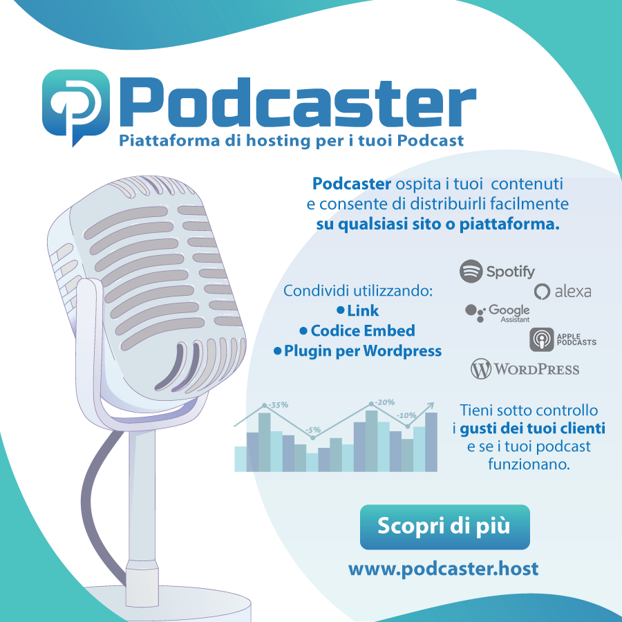 meway podcaster 900x900 - Radio e Tv 4.0. La Svizzera invita utenti ad adeguarsi a imminente abbandono DTT (giugno 2019) ed a Radio IP, podcast in testa. Smart speaker a go go dappertutto