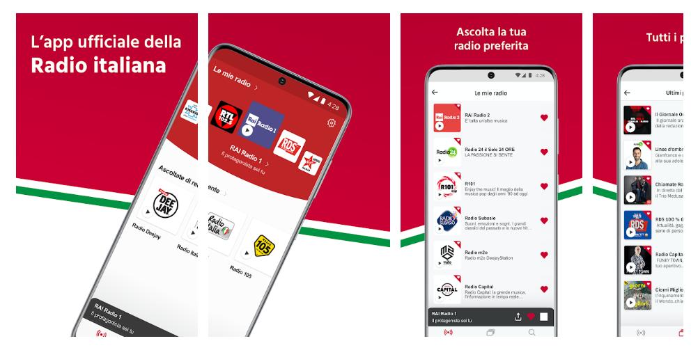 Radioplayer Italia, (RAI)