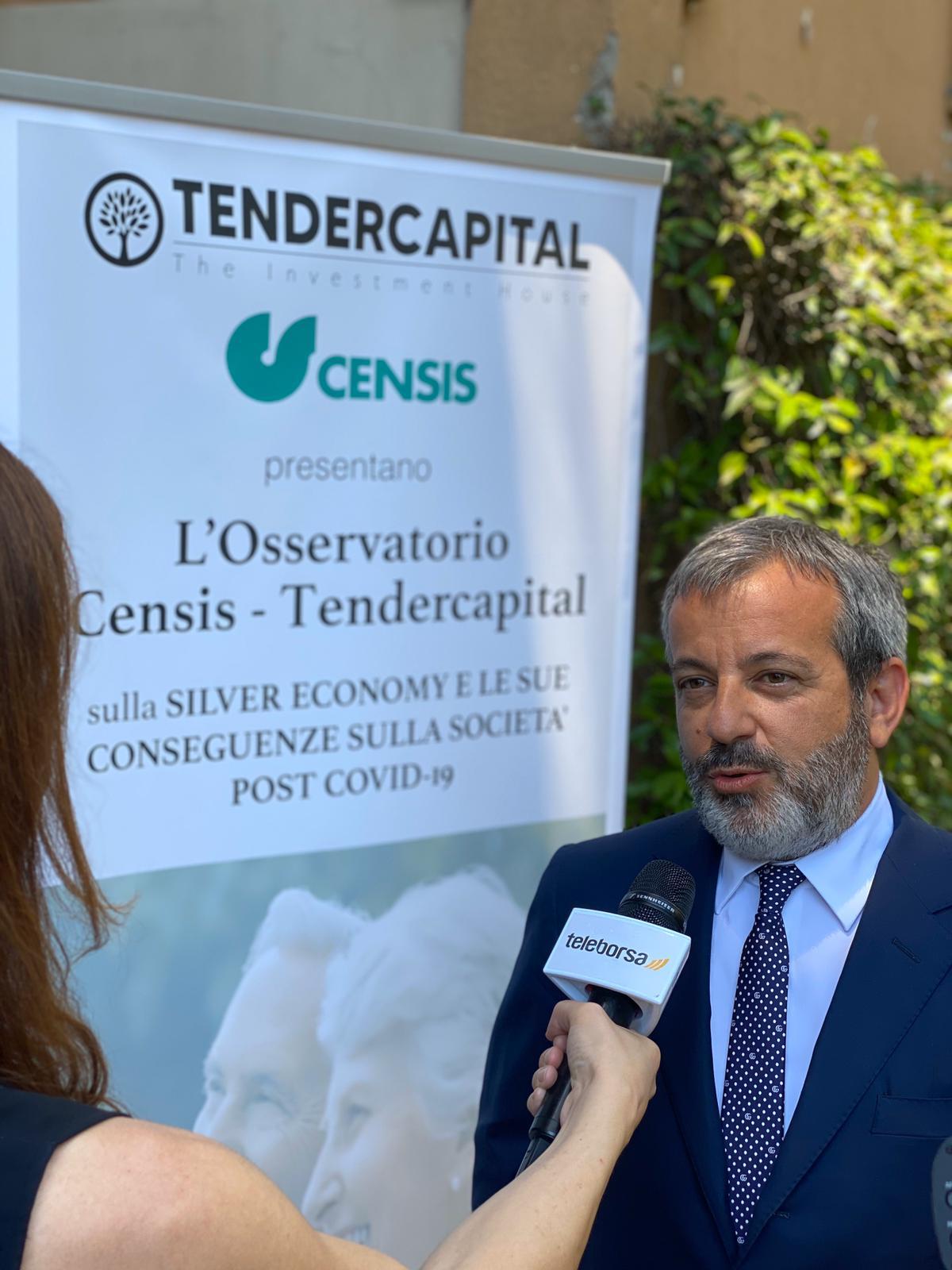 Moreno Zani Presidente Tendercapital - Società e consumi. Da ricerca Censis su Silver economy post Covid-19 emerge sentimento di rancore dei giovani verso gli anziani