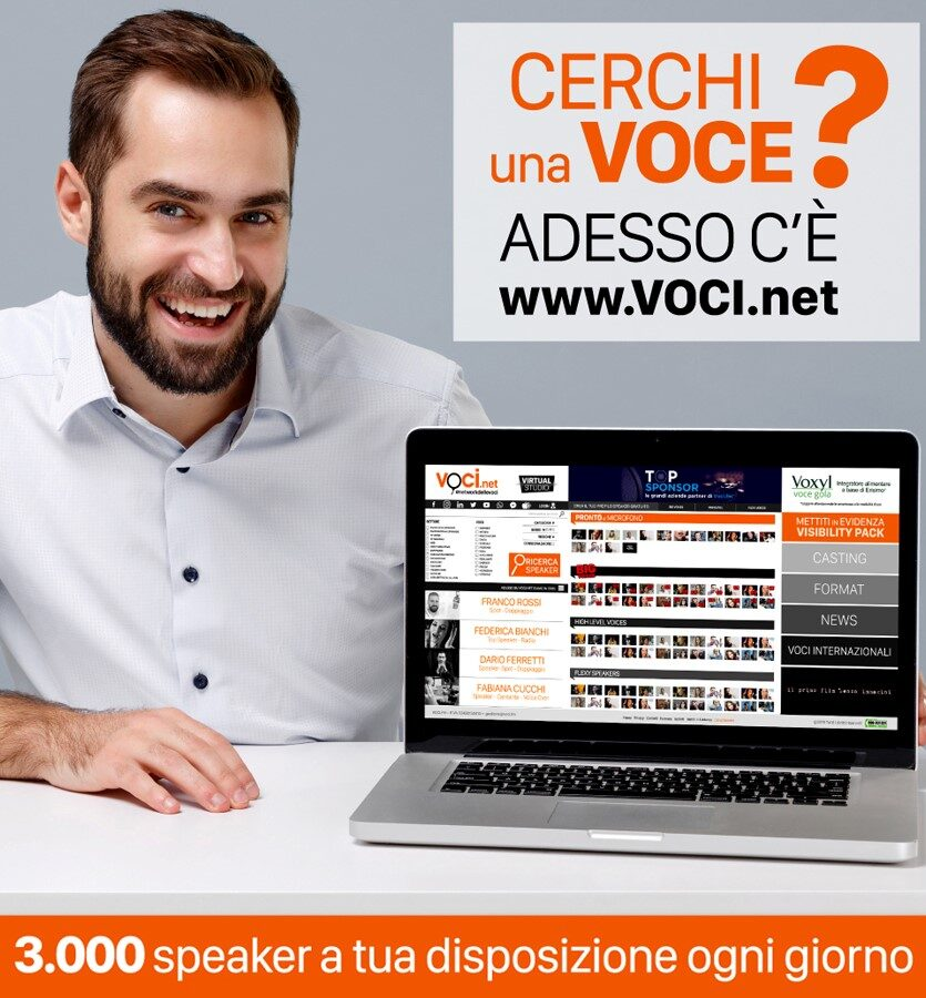 Voci.net banner 1 835x900 - Web e marketing. Gli influencer sono i nuovi media? Per Filmedia sì: nuova concessionaria ad hoc. Collaborazione con Selection per una Goleador in onore del Tricolore