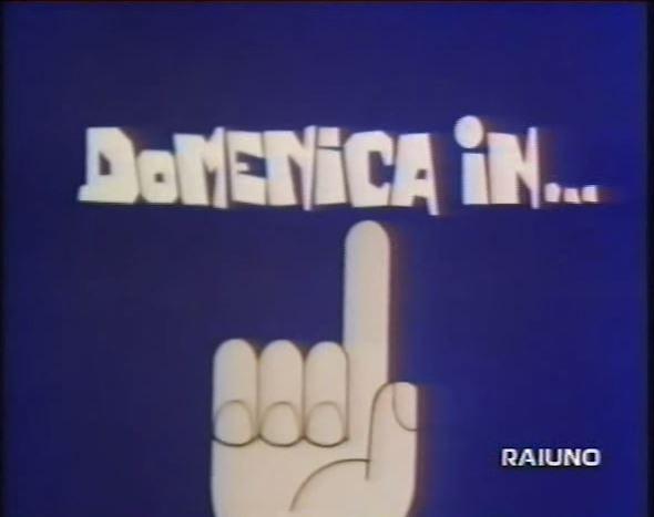 domenica in 1977 1978 logo - Tv. Domenica In: nel 1976 Corrado introduce la domenica degli italiani. In occasione della nuova edizione del 2020 ripercorriamo le tappe del programma
