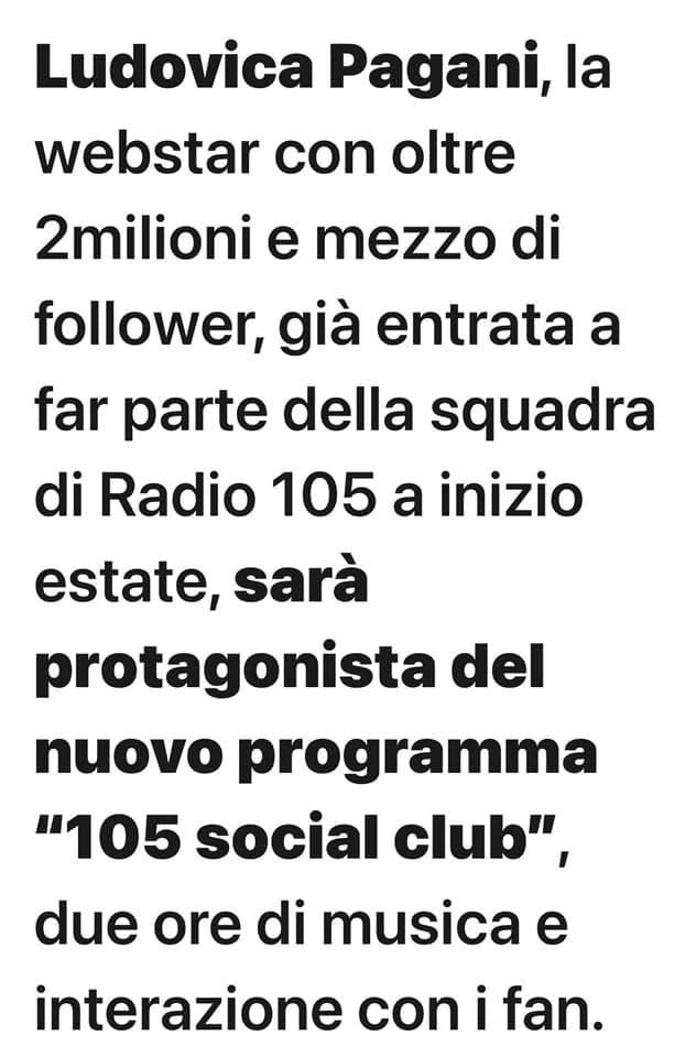 radiomediaset 105 social club - Radio. Radiomediaset: presentate le novità. Più musica su 105, news in outsourcing, nuovo annuncio per United Music. Ma intanto è polemica sul nome di un programma
