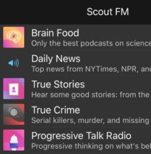 scout fm podcast apple - Apple acquista Scout FM. E immediatamente la chiude...