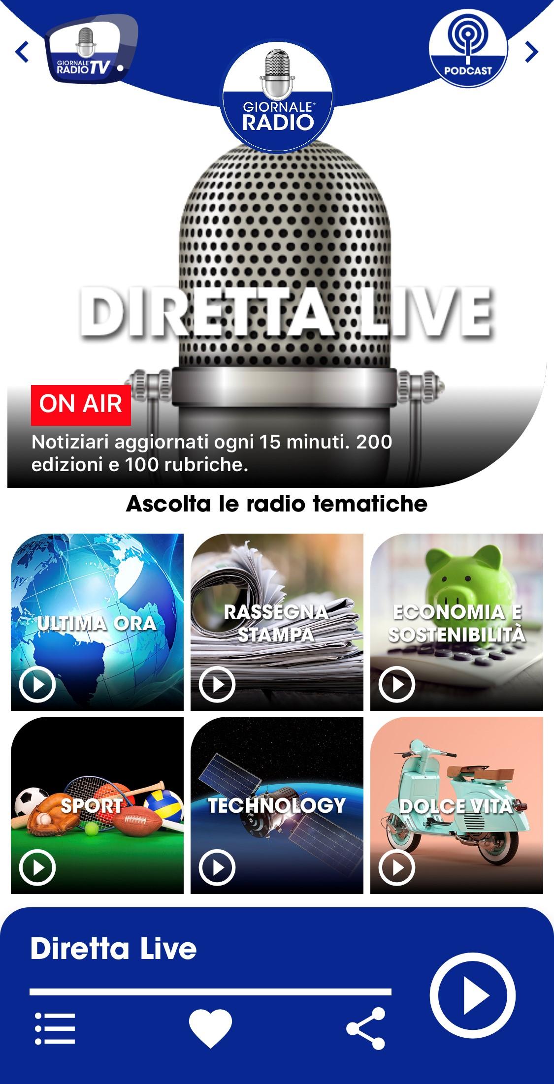 """Giornale Radio app - Radio. De Robertis lascia Giornale Radio? """"Ma quando mai! Notizie infondate. Anzi, insieme a Zambarelli stiamo lanciando la nuova campagna!"""""""