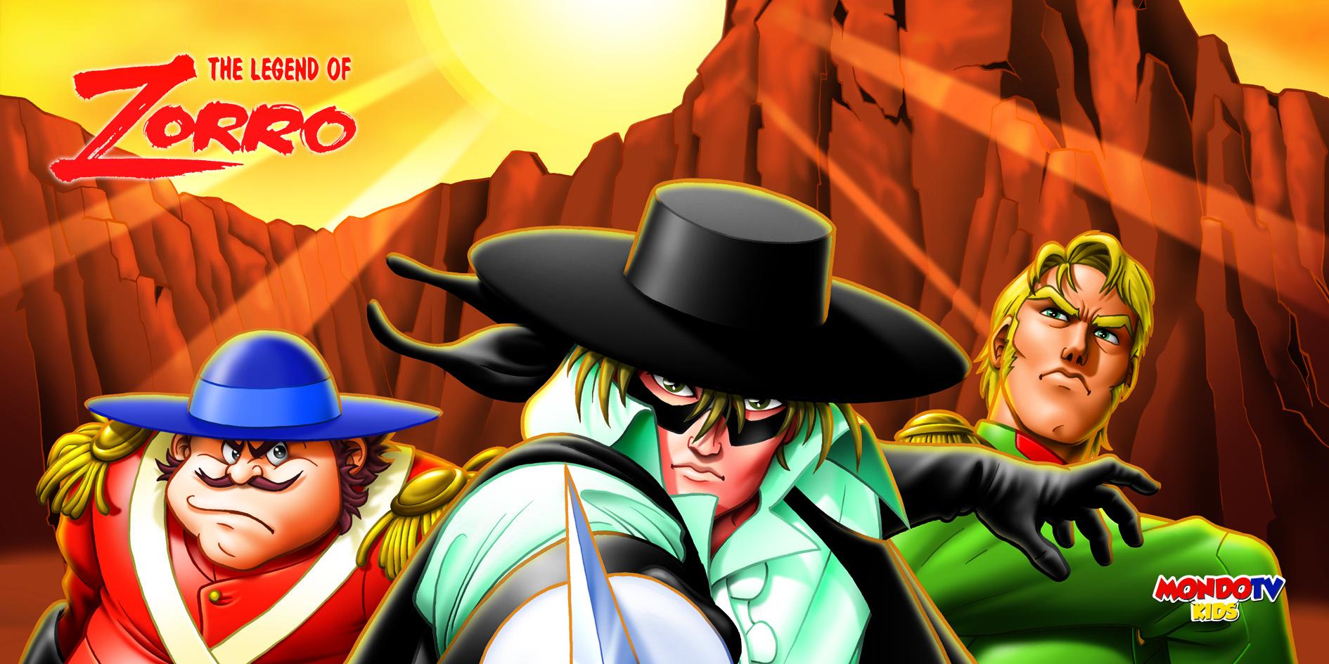 Mondo Tv Kids Zorro - Tv. Mondo Tv lancia un nuovo canale di cartoon per le smart tv. Mondo Tv Kids su piattaforma Samsung Tv Plus
