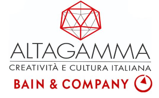 Altagamma Bain Worldwide Monitor - Mercato ed economia. Lusso, Altagamma Bain Worldwide Monitor: perdite del 22% nel 2020. Digitale sempre piu' importante, +30% in 4 anni. Obiettivo: 2 mila mld di valore nel 2030.