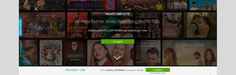 LandingMovistar - SVOD. Landing page per le Serie Tv. Le case history di Netflix, Apple Tv, Disney+, HBO, Movistar e Amazon Prime Video. 5 consigli per realizzarne una