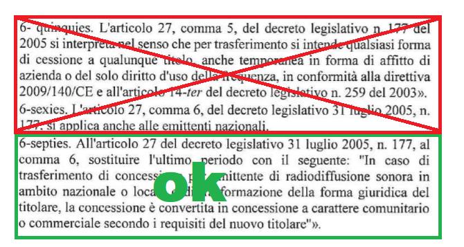 DL 137 2020 Conversione legge - Radio. Approvata la conversione in legge (n. 176/2020) del DL 137/2020 con la norma sulle trasformazioni dinamiche dei titoli concessori. Espunto l'affitto delle frequenze FM