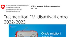 Bakom, Ufcom, impianti FM